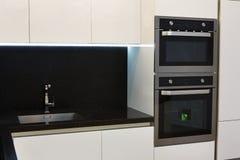 Elegant and comfortable kitchen interior Royalty Free Stock Photo
