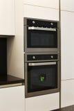 Elegant and comfortable kitchen interior Stock Image