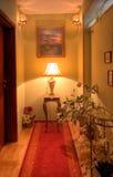 Elegant corridor Stock Images