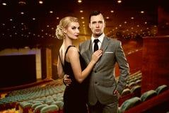Elegant couple Royalty Free Stock Photo