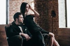 Elegant couple. Stock Photos