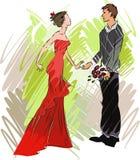 Elegant Couple Royalty Free Stock Photos