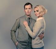 Elegant couple Stock Image