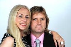 Elegant couple Stock Photography