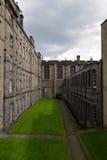 Elegant courtyard in Edinburgh, Scotland Stock Photo
