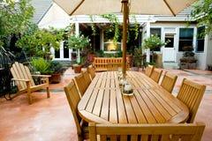 Elegant Courtyard Series Royalty Free Stock Image