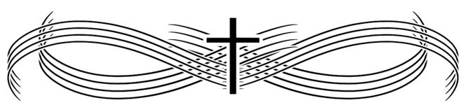 Free Elegant Cross Tattoo With Lines Isolated Stock Image - 136162651