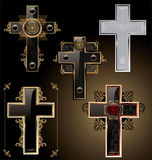 Elegant crosses Royalty Free Stock Photo