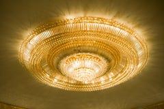 Elegant Crystal Chandelier Royalty Free Stock Image