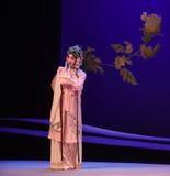 """Elegant cui yingying-Kunqu Opera """"the West Chamber"""". In May 17, 2015, the Suzhou Kunqu opera classic Kunqu Opera Xixiangji staged in nanchang.The world's Stock Photo"""