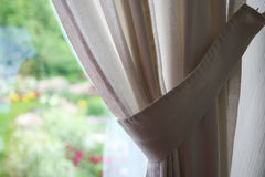 Elegant curtain Stock Photo
