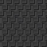 3D grey monochromic geometric abstract background for futuristic and construction designs Stock Photography