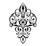 Elegant damask ornament. Elegant damask graphic vector ornament Stock Image