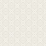 Elegant damask wallpaper. Seamless background. Vector illustration Royalty Free Stock Photography