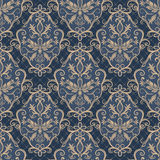 Elegant damask wallpaper. Seamless floral pattern for design, vector Illustration vector illustration