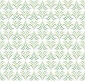 Elegant Damast Bloemen Vector Naadloos Patroon De decoratieve Illustratie van de Bloem Abstract Art Deco Background vector illustratie