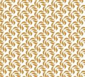 Elegant Damast Bloemen Vector Naadloos Patroon De decoratieve Illustratie van de Bloem Abstract Art Deco Background royalty-vrije illustratie
