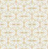 Elegant Damast Bloemen Vector Naadloos Patroon De decoratieve Illustratie van de Bloem Abstract Art Deco Background stock illustratie