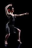 Elegant dance Stock Images