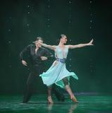 Elegant dance steps-Flamingo dance-the Austria's world Dance Stock Photos