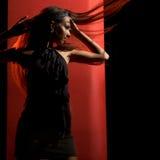 Elegant dancer Stock Photos
