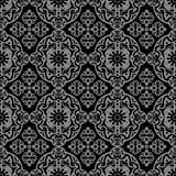 Elegant dark antique background image of flower oval spiral kaleidoscope Stock Photography
