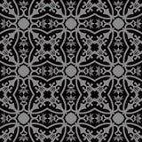 Elegant dark antique background image of flower vine calyx leaf Royalty Free Stock Images