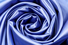 Elegant dark blue silk Royalty Free Stock Images