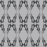 Abstract Gothic Seamless Pattern. An elegant, yet dark and gothic inspired seamless lace pattern Royalty Free Illustration