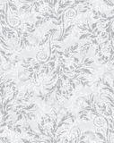 Elegant decorative floral seamless EPS10 pattern Stock Photos
