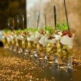 Elegant dessert Royalty-vrije Stock Foto's