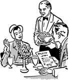 Elegant Dining Couple Royalty Free Stock Image