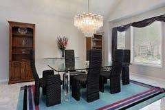 Elegant dining room royalty free stock photos