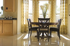 Elegant dining room Royalty Free Stock Photography