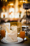 Elegant Dining Table Stock Photography