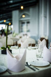 Elegant Dining Table Royalty Free Stock Photo