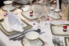 Elegant dinner Royalty Free Stock Images