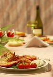 Elegant dinner Stock Photos