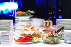Elegant dinner table. Royalty Free Stock Photos
