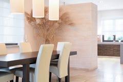 Elegant dinning room Stock Photo