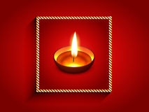 Elegant diwali diya Royalty Free Stock Photo