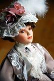 Elegant Doll Closeup Stock Photography