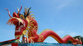 Elegant Dragon Royalty Free Stock Photo