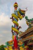 The Elegant Dragon on the sky Stock Photo