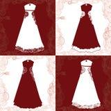 Elegant dress Stock Images