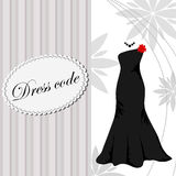 Elegant dress background Royalty Free Stock Image