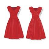 Elegant dress. Female`s clothes. Royalty Free Stock Photos