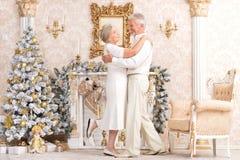 Elderly couple dancing Royalty Free Stock Photo