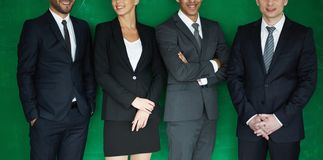 Elegant employees Royalty Free Stock Photography