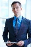 Elegant employer Stock Photography